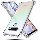 BEBEST- LG Stylo 6 Case, LG Stylo 6 Phone Case with Screen Protector, Flexible Thin Cover [ Shockproof Bumper ] Ultra Slim Fi