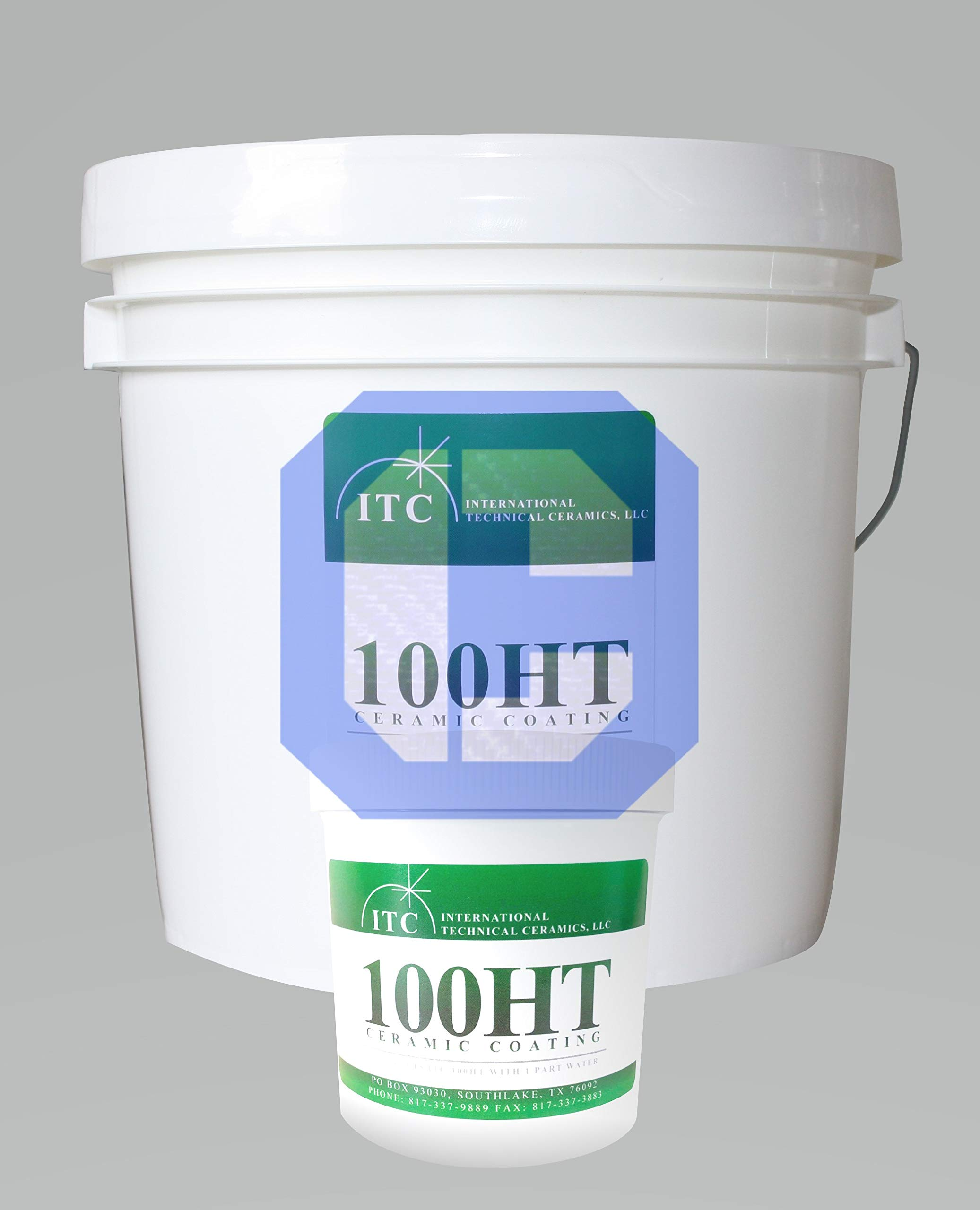 ITC-100HT Pint Ceramic Radiant Heat Reflection & Protective Refractory Coating by CeraMaterials