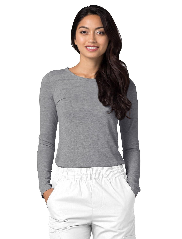 f327aecb8c6 Adar Medical Uniforms (2 Pack) Women's Pop-Stretch Crossover Scrub Top  Hospital Workwear: Amazon.co.uk: Clothing