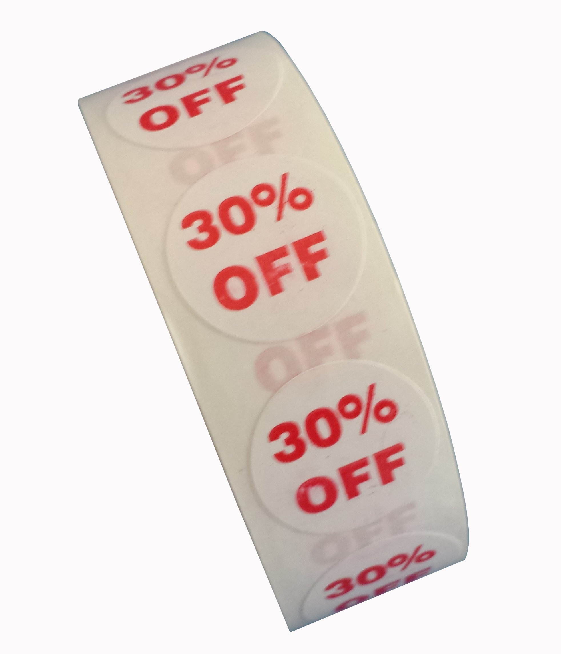 30% Off Dots, 3/4'' Adhesive Labels (1000) for Labeling Sale Items