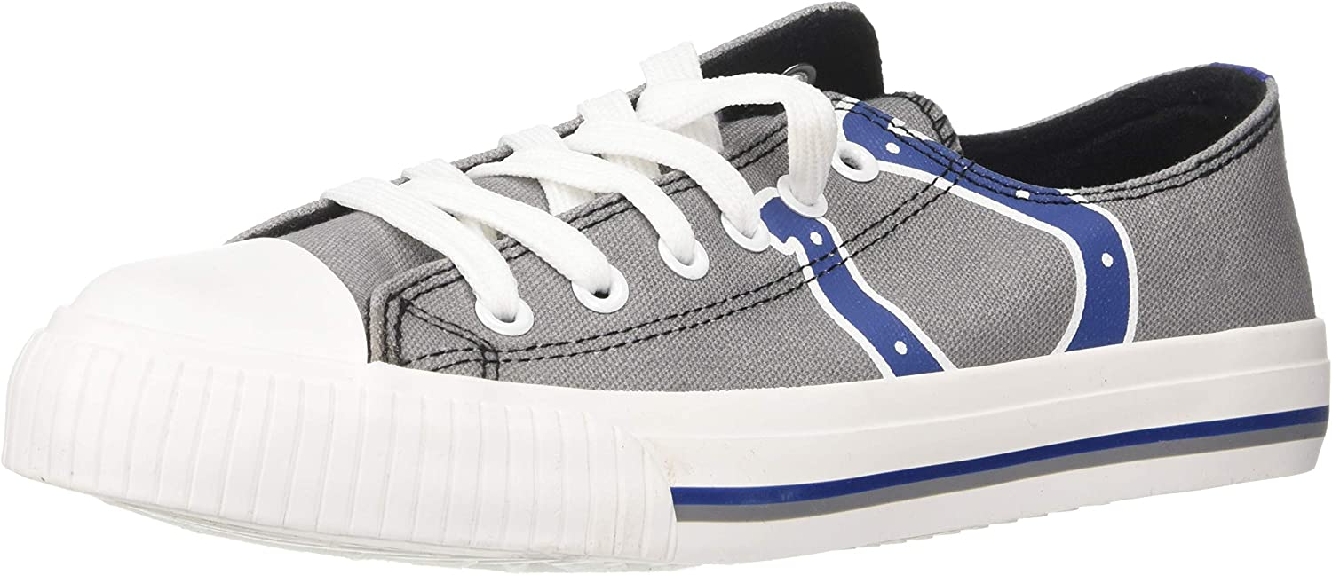 FOCO NFL Mens NFL Canvas Stripe Shoe Mens