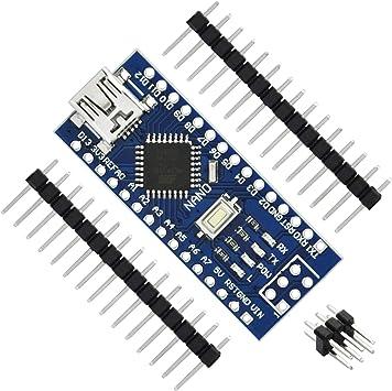 Amazon.com: Gikfun USB Nano V3.0 ATMEGA328 CH340G 5 V 16 M ...