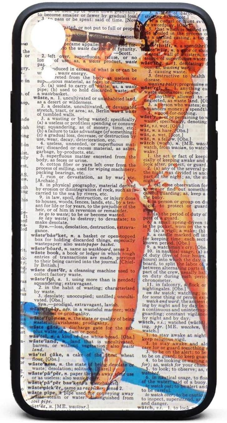 Gmhnssdszd Case For Apple Iphone Xr Pin Up Girl Wallpaper Tpu Soft