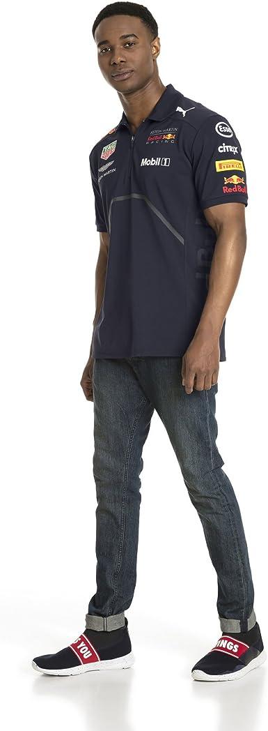 PUMA RBR Team Polo Camiseta, Hombre: Amazon.es: Ropa y accesorios