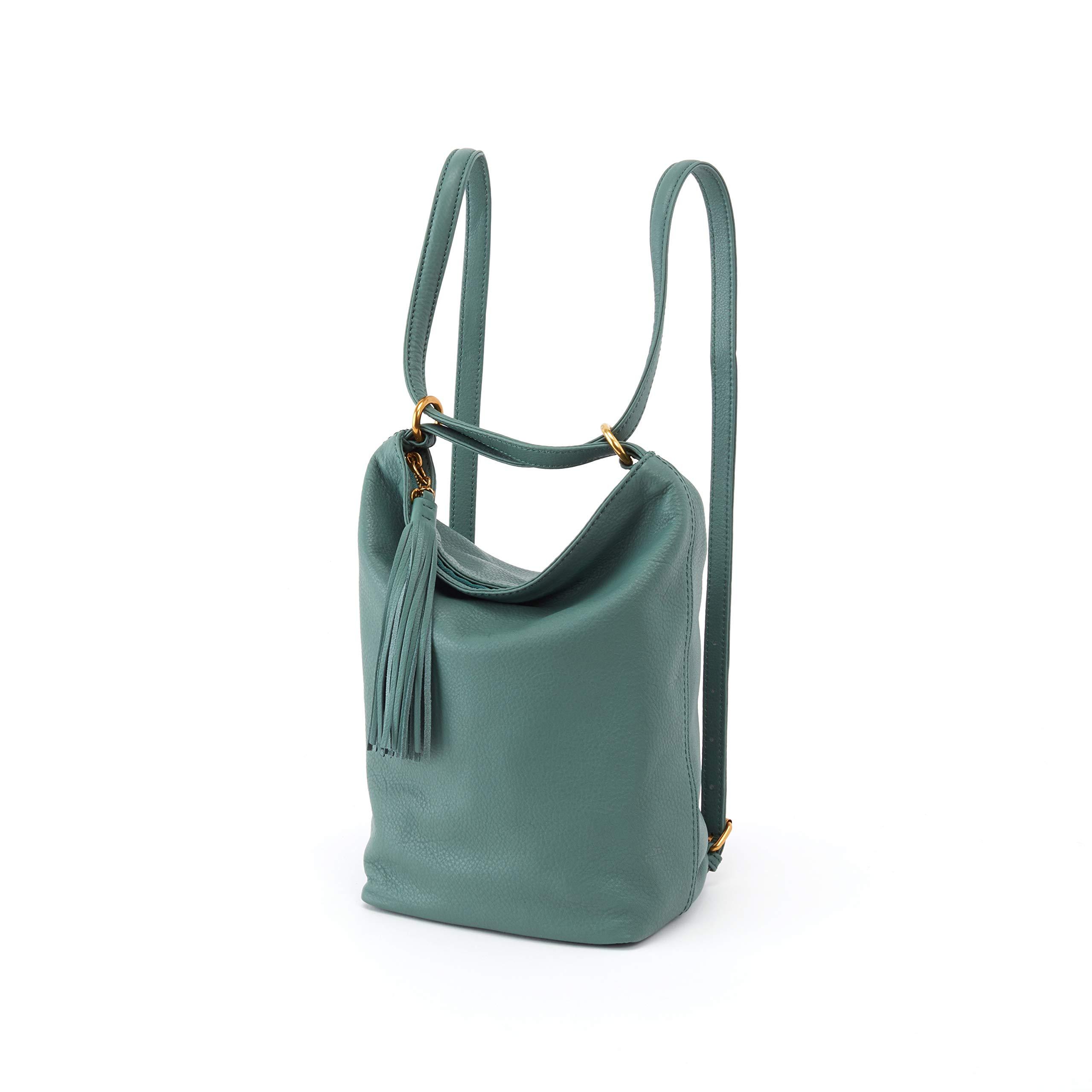 Hobo Women's Leather Blaze Convertible Backpack Bag (Meadow)