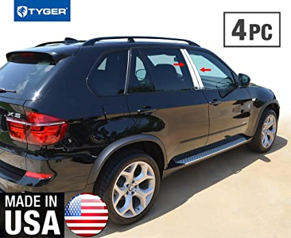 Amazon Com Made In Usa Works With 07 2013 Bmw X5 4 Pc Stainless