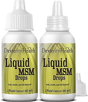 Dexterity Health Liquid MSM Eye Drops 2-…