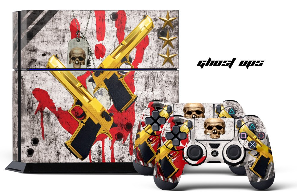 Amazon price history for 24*7 Skins PS4 Console + Controller Skin - Ghost Special Ops