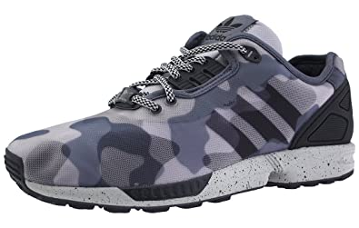 303cebea6a95 Image Unavailable. Image not available for. Colour  adidas ZX Flux CAMO  Sneaker