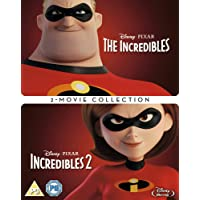 Incredibles 1 & 2 Box set [Blu-ray] [2018] [Region Free]