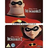 Incredibles 1 & 2 Box set [Blu-ray] [2018] [Region Free]