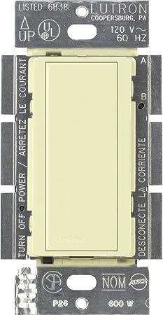 lutron ma as wh maestro multi location companion switch white lutron ma as wh maestro multi location companion switch white wall light switches amazon com