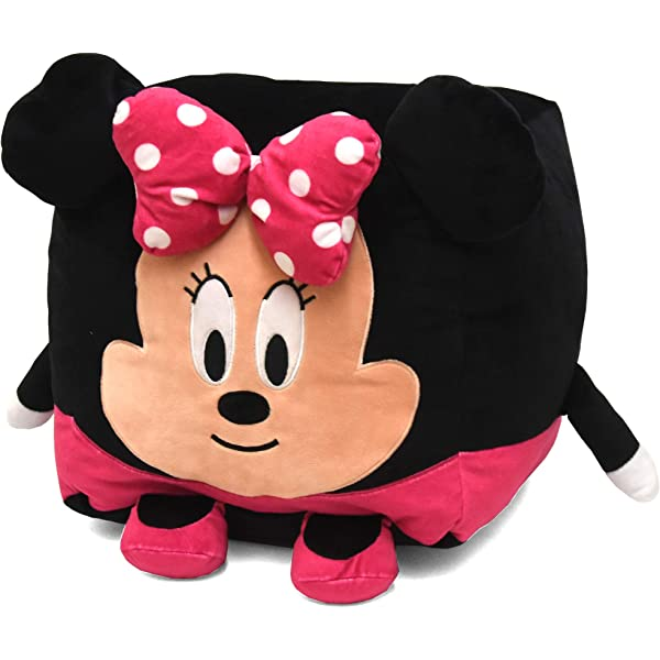 LA NK319316 Black Idea Nuova Disney Tsum 19 Minnie Mouse Round Bean Bag