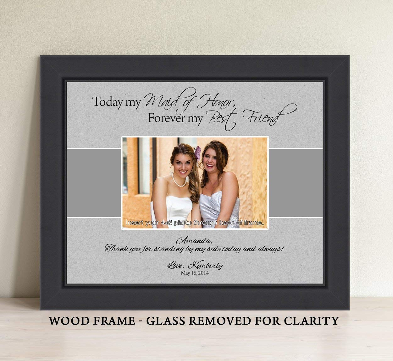 Amazoncom Personalized Maid Of Honor Gift Matron Of Honor Gift