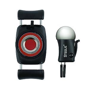 Nite Ize Original Steelie FreeMount Vent Kit - Adjustable Magnetic Bracket + Car Vent Mount for Smartphones