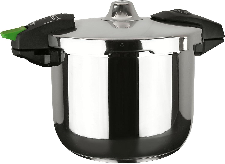 Magefesa 01OPEUROP03 Rapid III Stainless Steel Super Fast Pressure Cooker, 3-Quart