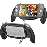 Hand Grip Case for Switch Lite, KIWIHOME Switch Lite Handles Ergonomic Comfort Shockproof Case with Game Storage Case…