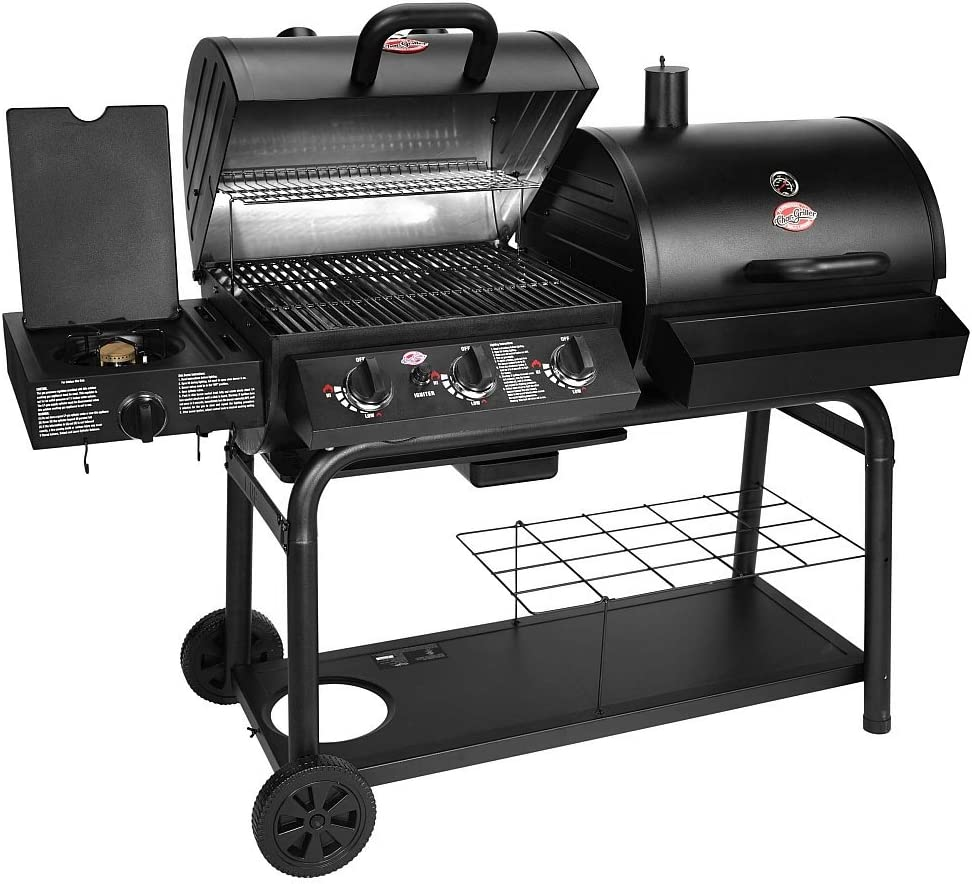 hybrid gas charcoal grill reviews