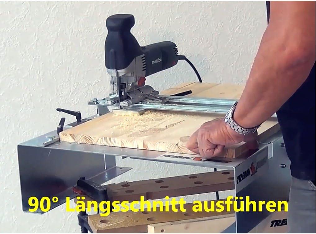 1St T-Schaft Holz Stichs/ägeblatt 100 mm 130 mm extra lang auch f/ür Trenn-Biber als Laminat Schneider geeignet