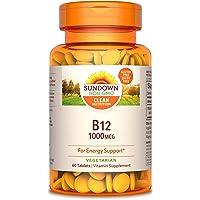 3-Pack Sundown Vitamin B-12 High Potency 1000 mcg, 60 Tablets