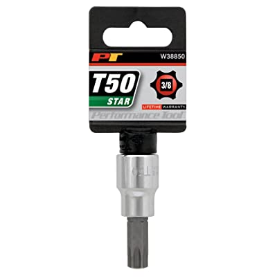 """Performance Tool W38850 Star Bit Socket, 3/8"""" Drive: Automotive"""