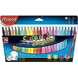 Maped Ofis Ve Kırtasiye 845022 Color'Peps Longlife Keçeli Kalem, 24'Lü