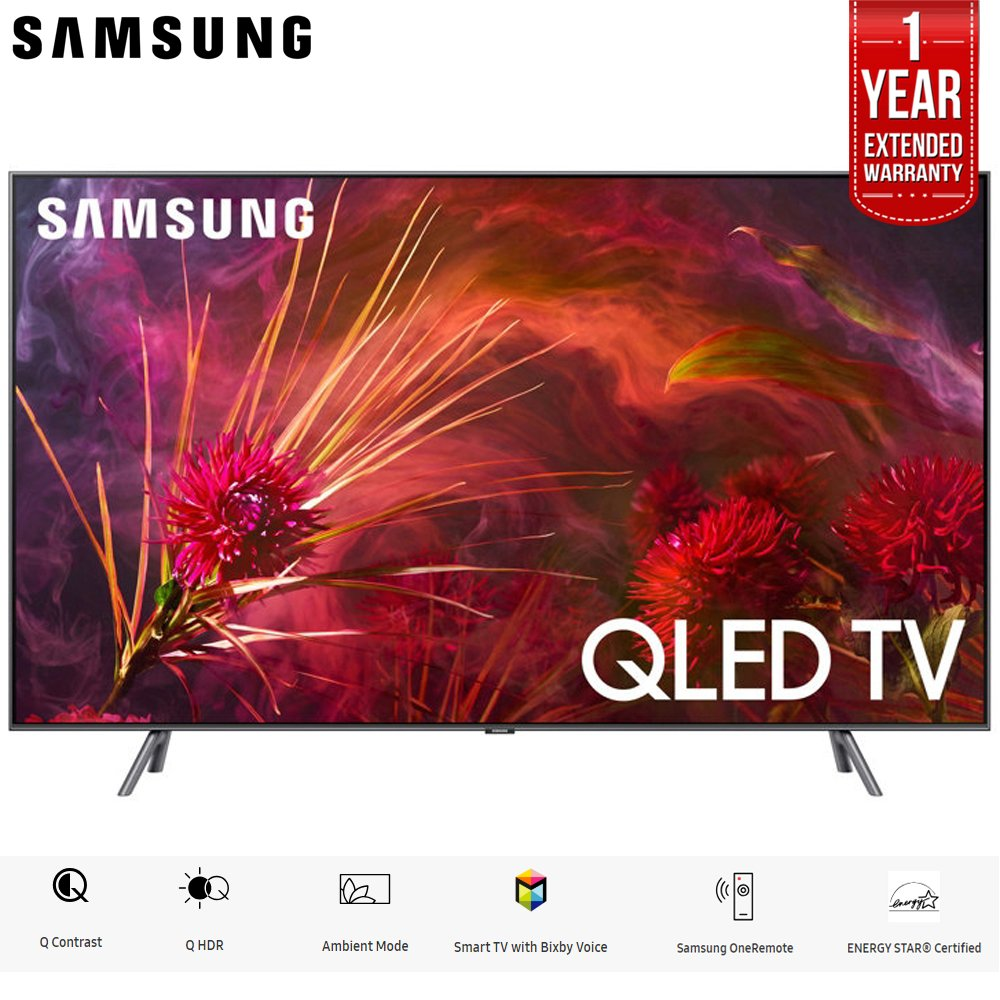 Samsung QN65Q8FNB 65″ Q8FN Smart 4K Ultra HD QLED TV