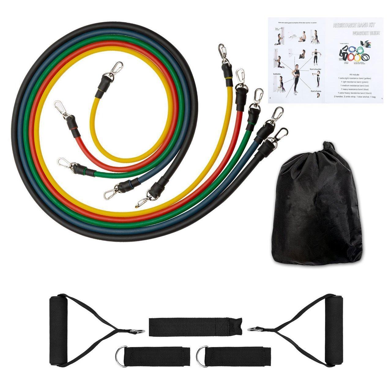 Látex elástica cuerda clase de látex Rally Vascular entrenamiento de resistencia banda de goma correa de bandas de resistencia bandas de ejercicio gimnasio ...
