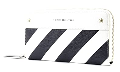 TOMMY HILFIGER Cool Hardware Zip Around Wallet Tommy Navy