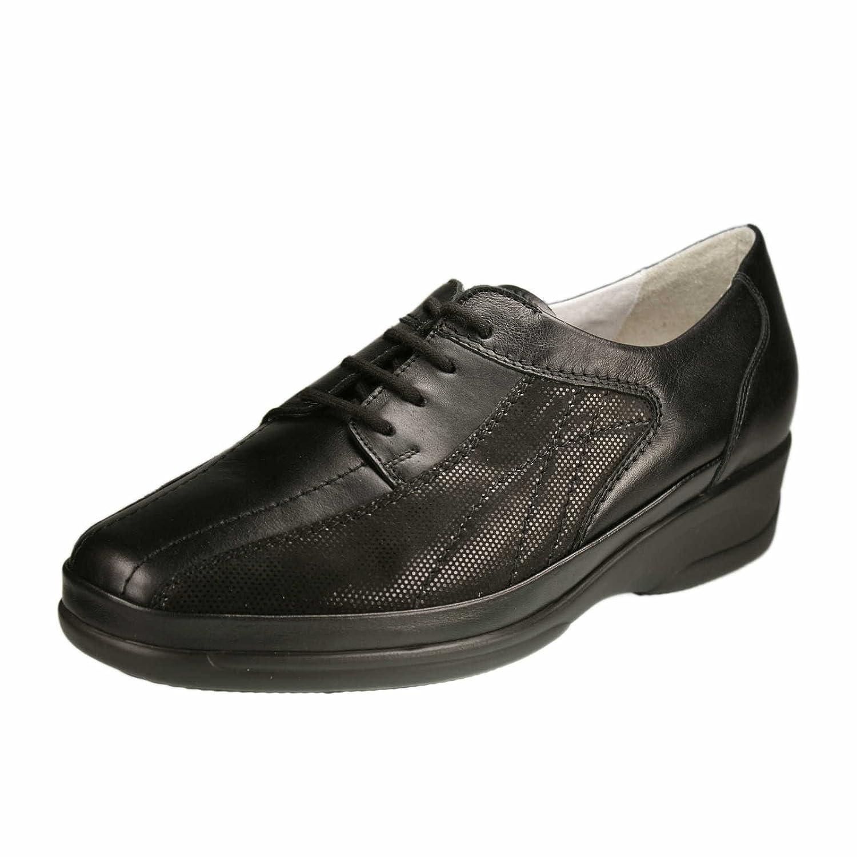 Waldläufer - Zapatos de cordones de cuero para mujer 38