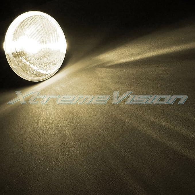 H7 4300K 2 Year Warranty 43K Bright Daylight XtremeVision 35W Xenon HID Lights with Premium Slim Ballast