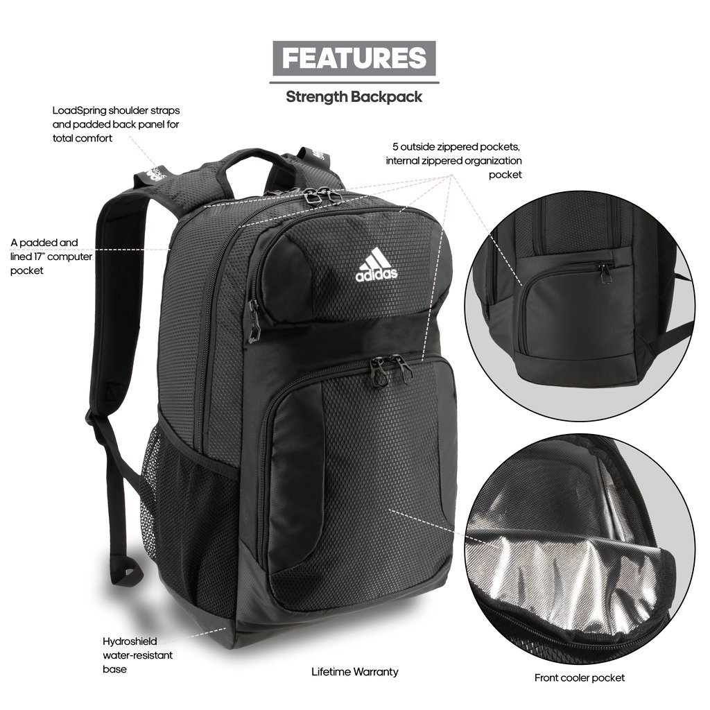 3bb16677a0 adidas Climacool Strength Backpack