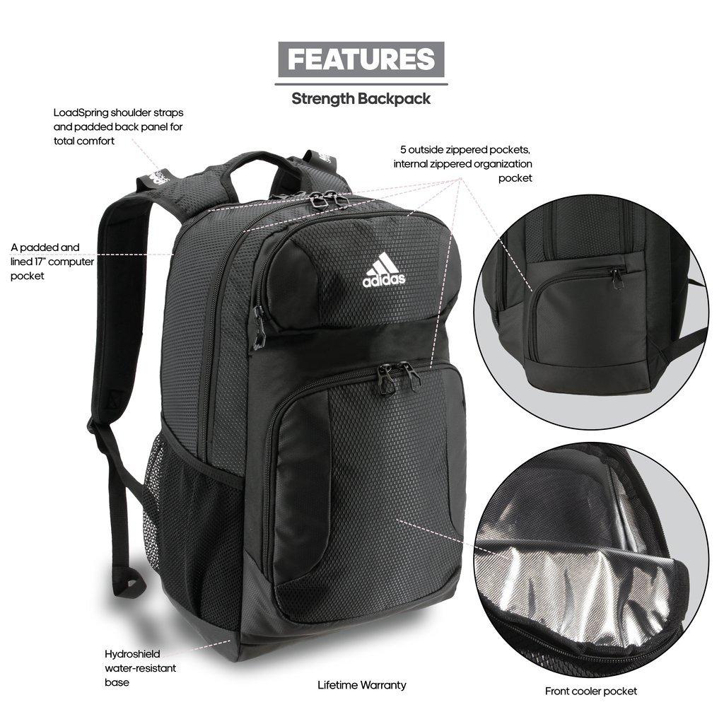 7b1a99e038 adidas Climacool Strength Backpack