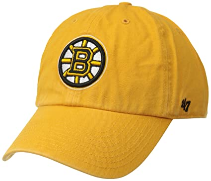 e7c10c53b3b57 Amazon.com    47 NHL Boston Bruins Brand Clean Up Adjustable Hat ...
