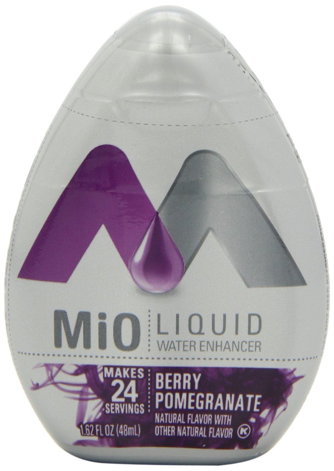 MiO Liquid Water Enhancer, Berry Pomegranate, 1.62 Ounce (Pack of 12) by Mio