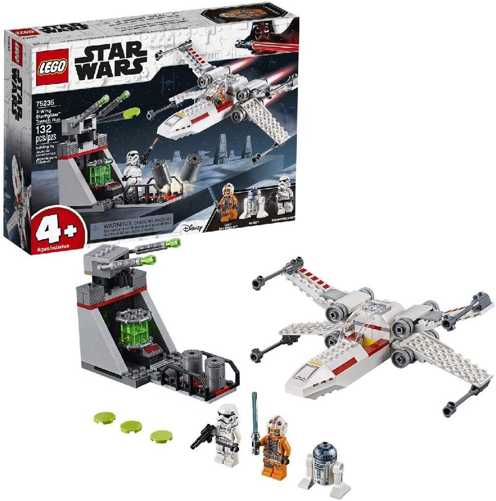 LEGO Star Wars X-Wing Starfighter Trench Run 4+ Building Kit