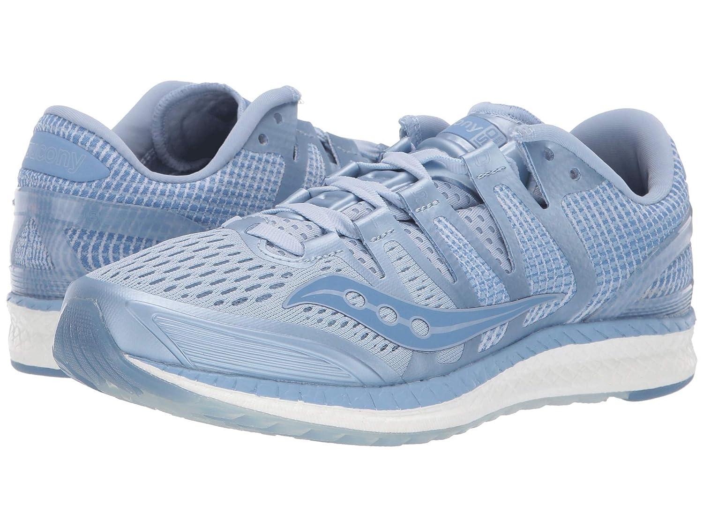 [サッカニー] - レディースランニングシューズスニーカー靴 [サッカニー] Liberty ISO - [並行輸入品] B07N8FJ4J2 Fog/Blue 10 (26.5cm) B - Medium 10 (26.5cm) B - Medium Fog/Blue, カジュアルクロージング With:0a44c892 --- cosp.top