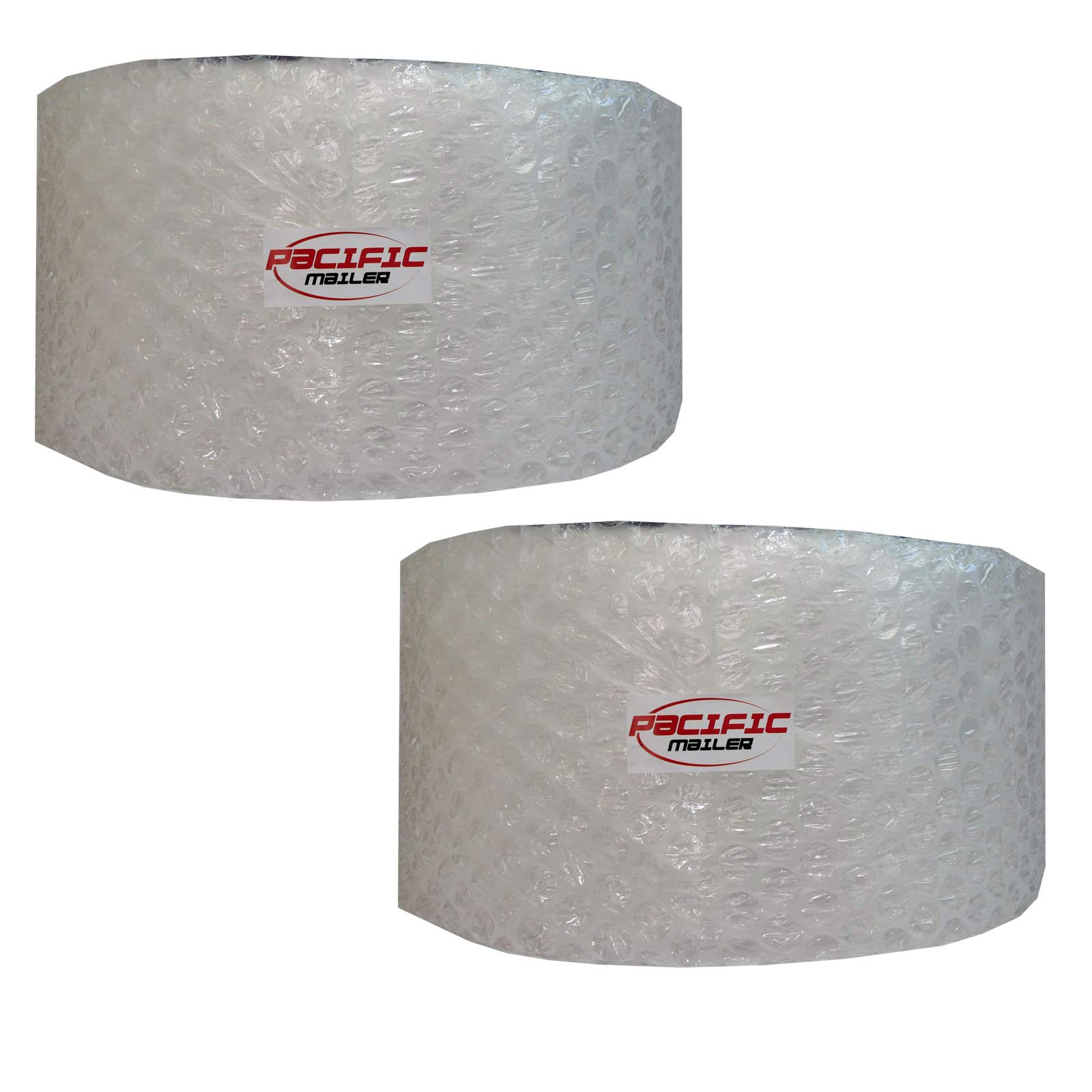 PacificMailer Bubble Cushioning Wrap Roll 12'' x 250' x 1/2'' Large, Perforated Every 12'' for Packaging, Shipping, Mailing by PacificMailer (Image #1)