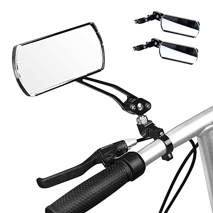 VTT Miroir de Vue Arri/ère Rotatif de Guidon de Bicyclettes avec Cl/é pour V/élos Route V/élos Montagne wishing R/étroviseurs de V/élos