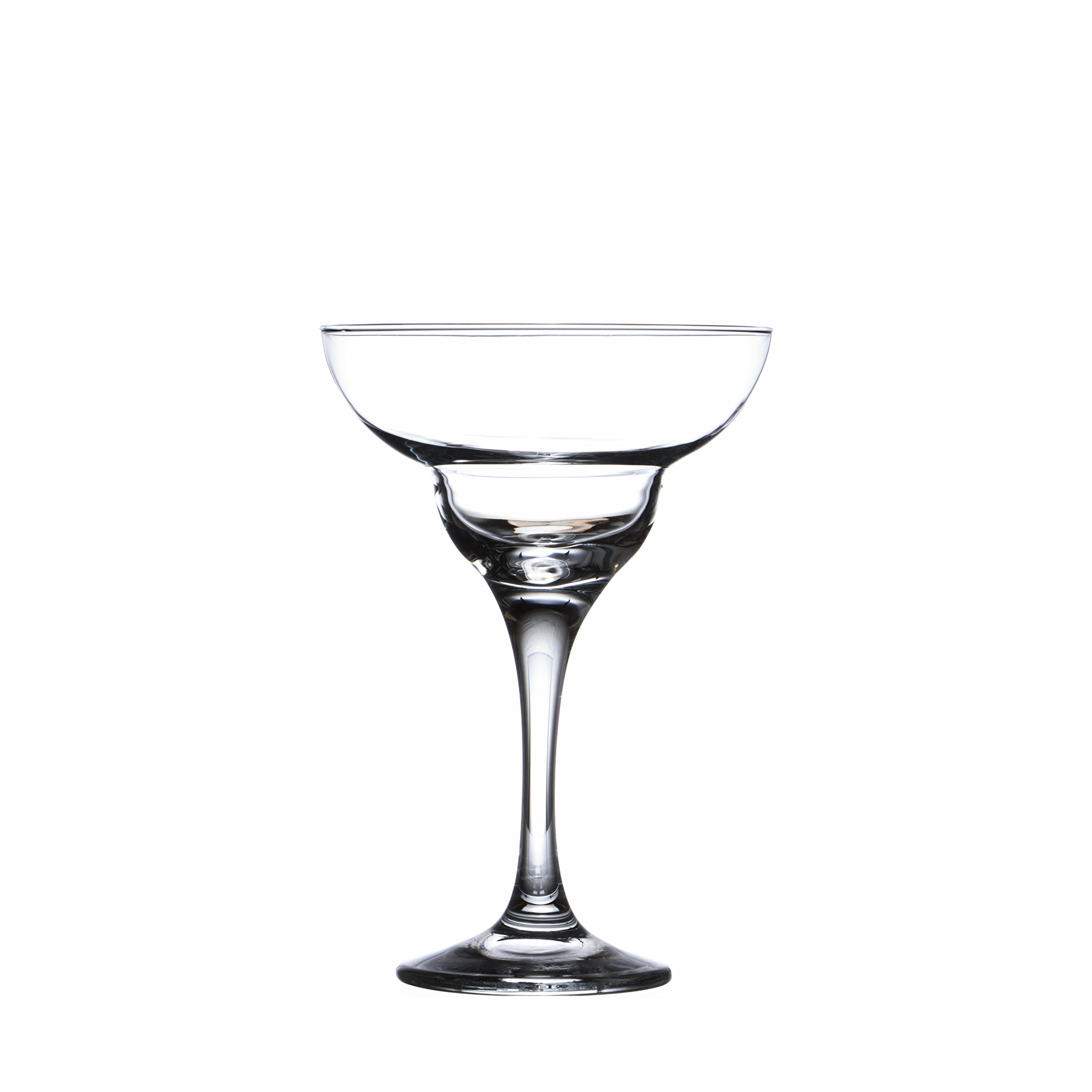12-Piece Champagne Glasses Set - Crystal Margarita Cocktails Wine Glass, Restaurants&Hotel Quality, 9 oz. (280 ml.)