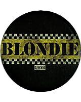 "Blondie - Taxi Logo - Pinback Button 1.25"""