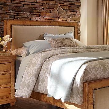 progressive furniture willow king upholstered headboard distressed pine bedroom set sets diego