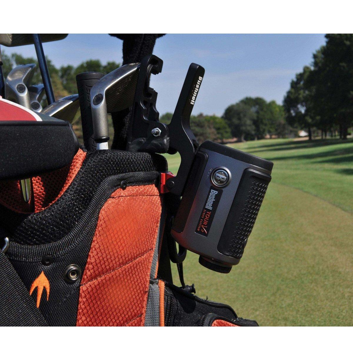 Bushnell Clip & Go - Soporte de bolsa medidor golf, negro ...