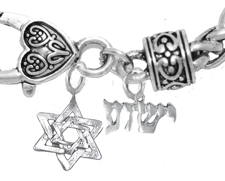 Yeshua Messanic Christianブレスレット、低刺激性、safe-nickel、リード、カドミウムフリー、調節可能なブレスレット B07612X2XN