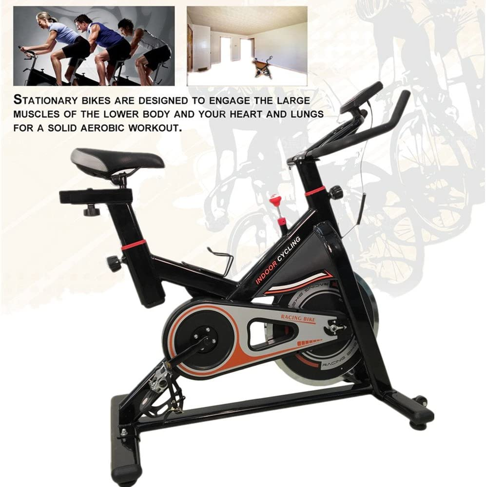 KinshopS Spinning Bikes con 13 kg Volante de inercia, spinred ...