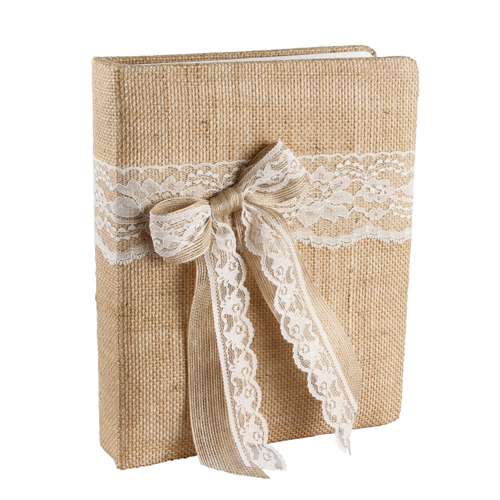 Ivy Lane Design Country Romance Wedding Memory Book, Ivory by Ivy Lane Design