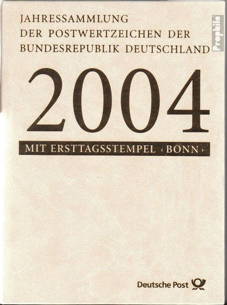 Prophila Collection BRD (BR.Deutschland) 2004 Offizielle Jahressammlung Faltblätter mit Ersttags (Briefmarken für Sammler)