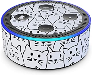 product image for Moody Cats - Skin Sticker Decal Wrap for Amazon Echo Dot (2nd Generation)