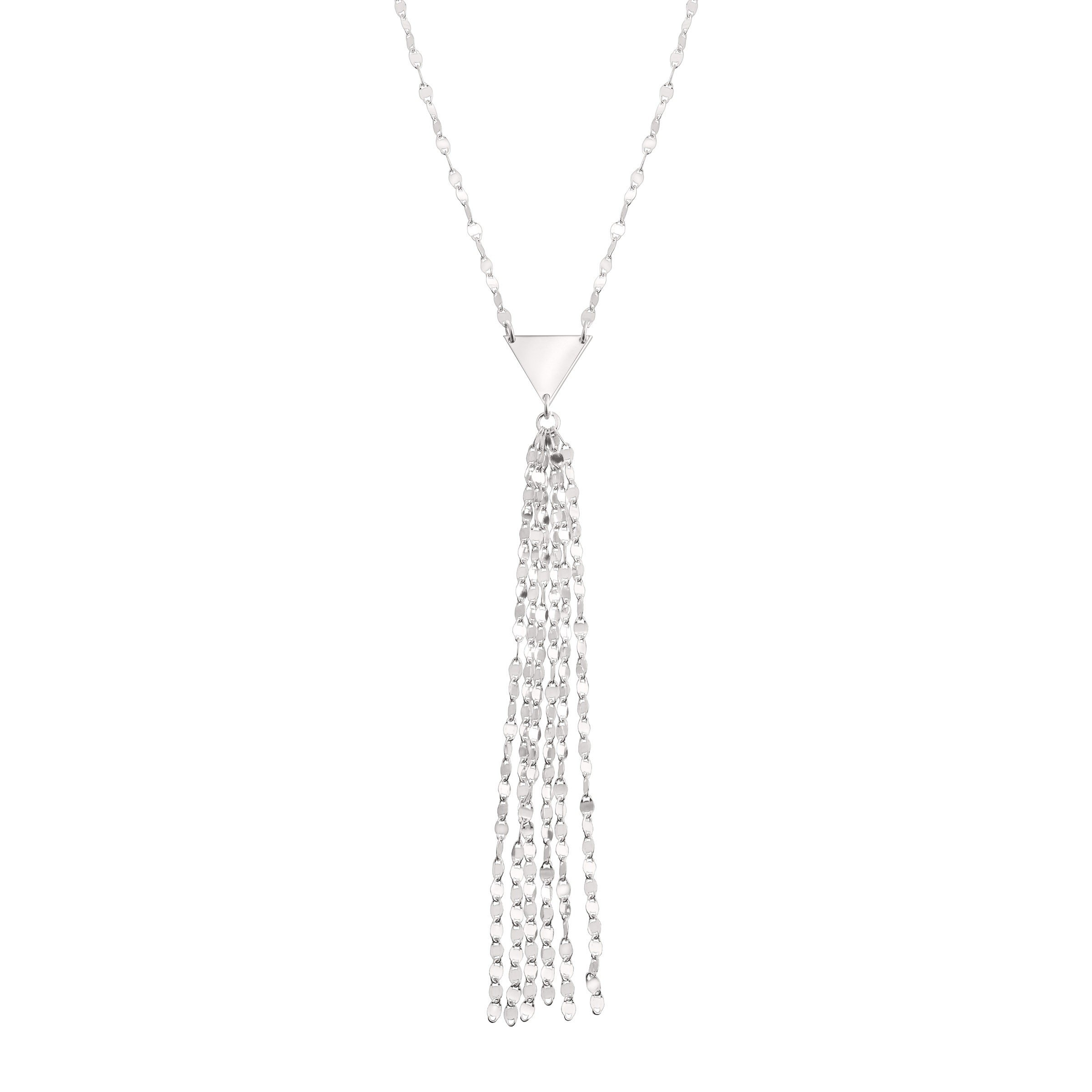 Silpada 'Siena' Lariat Tassel Necklace in Sterling Silver
