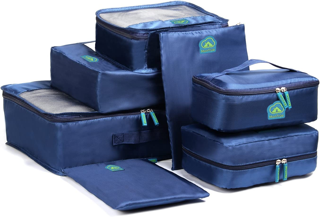 MonTrüe 7 Set Packs d'emballage | organisateurs d'emballage